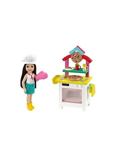 Barbie Gtr88 Chelsea® Ve Meslekleri Öğreniyor Oyun Seti Serisi Renkli